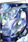 Pisces: Yarn Zodiac card