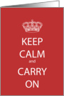 Happy Birthday Red Keep Calm and Carry on