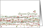 Sequins & Glitter Seasons Greetings Christmas