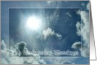 Ash Wednesday - Sun In Clouds card