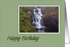 Birthday - Waterfall card