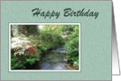Birthday - Stream Scene card