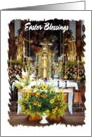 Easter - Church Flowers card