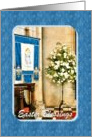 Easter - Church Flowers & Banner card