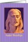 Easter - Jesus Statue card