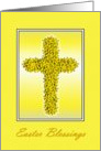 Easter - Daffodil Cross card