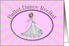 Dance Recital card