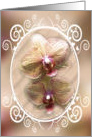 Orchids Blank Card