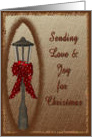 Love and Joy for Christmas card