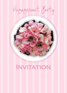 Engagement party invitation Greeting Card