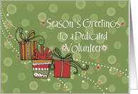 Merry Christmas Volunteer card