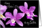Happy Mothers day to my sister Greeting Card