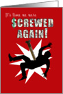screwed again tax day card