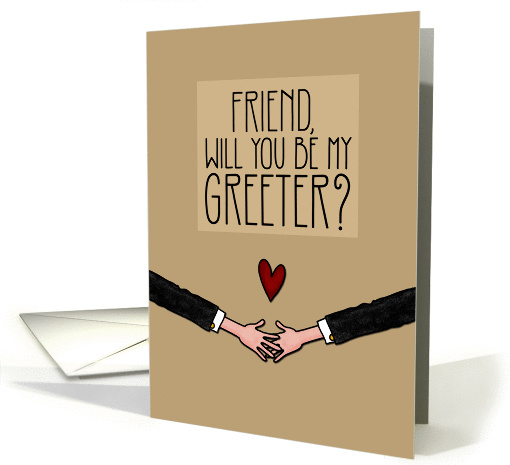 Friend – Will you be my Greeter? – from Gay Couple
