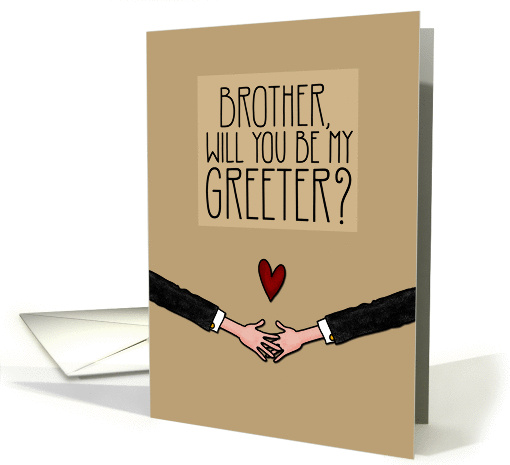 Brother – Will you be my Greeter? – from Gay Couple