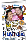 Happy Australia Day Photo Card