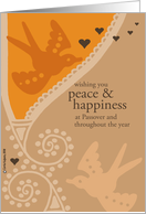 wishing you peace and happiness card