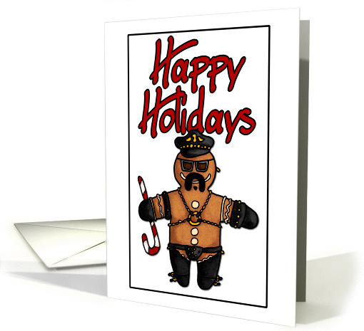 Happy Holidays – leather daddy