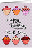Happy Birthday to my dearest birth mom card