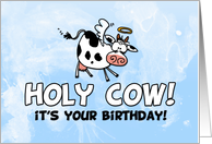 Holy Cow! it&rsquo;s your birthday! card
