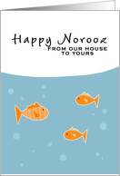 Happy Norooz - from our house to yours card