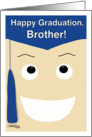 Happy Graduation-brother card