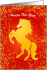 Chinese New Year Cards Year ofthe Horse card