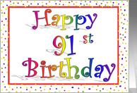 happy 91st birthday
