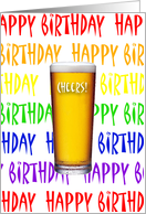 Cheers To You Happy Birthday card