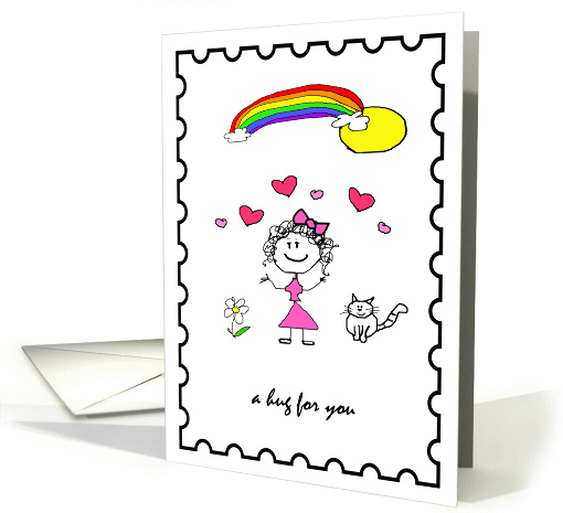 Friendship Hug card