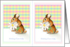 2 in 1 Notecards Little Mouse Blank Thinking of You Greeting cards
