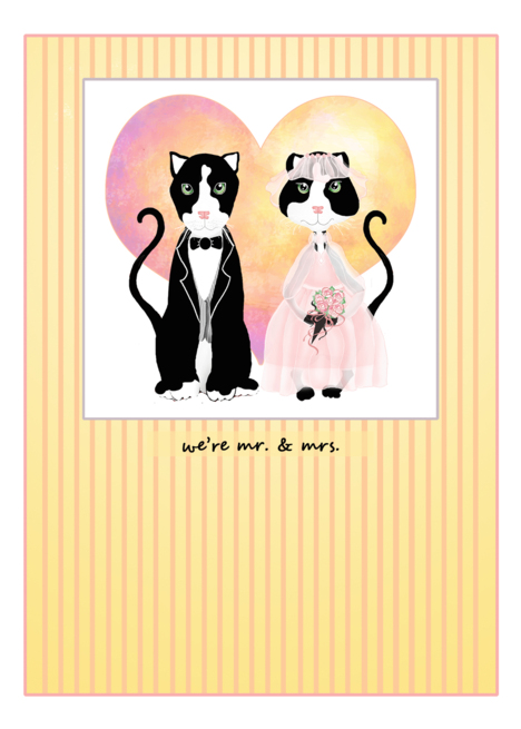 Buy announcements gifts invitations - Happy Cats Wedding Announcements Wedding Attendant Invitations Paper