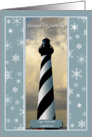 Cape Hatteras Nautical Themed Christmas Cards Business or Personal Use Paper Greeting Cards