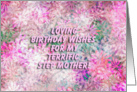 Happy Birthday Terrific Step Mother! - Verse Inside card