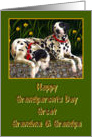 Great Grandma & Grandpa Happy Grandparents Day, Dalmatian dogs card