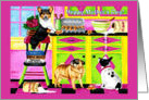 Mother&rsquo;s Day - Dogs in Kitchen Funny card