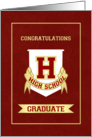 Graduation Congratulations - High School card