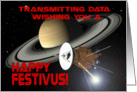 Festivus Wishes From Across the Cosmos! card