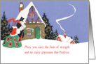Country House Festivus Card