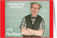 Nutty Professor Festivus Card
