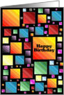 Happy Birthday Mosaic card