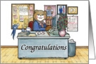 Secretary Congratulations card
