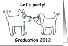Graduation Party - Two Together card