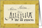 Alleluia - He Is Risen card
