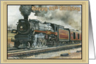 Birthday Locamotive - 90th card