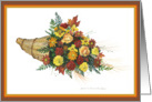 Harvest Flowers card