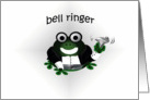 Bell Ringer Wedding Attendant (male) card