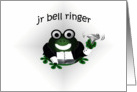 Jr Bell Ringer Wedding Attendant (male) card