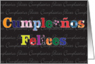 Cumpleanos Felices card