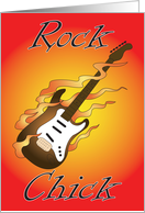 Birthday rock chic card